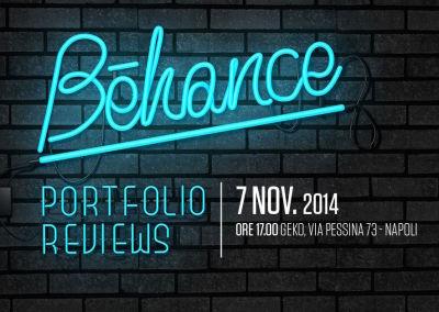 Behance Portfolio Reviews #4