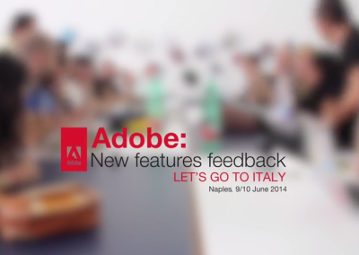 Adobe System – New features feedback